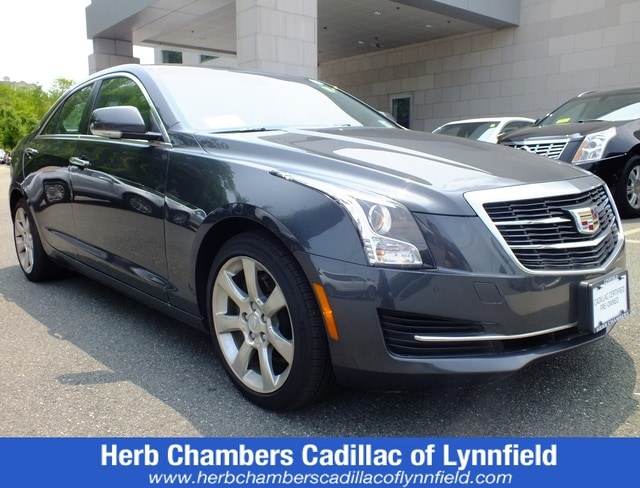 Pre-Owned 2016 CADILLAC ATS Luxury Collection AWD