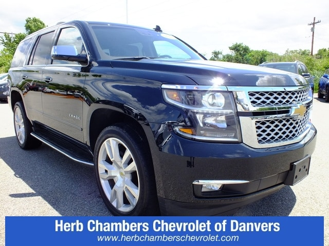 Herb Chambers Chevrolet >> Pre Owned 2017 Chevrolet Tahoe Premier