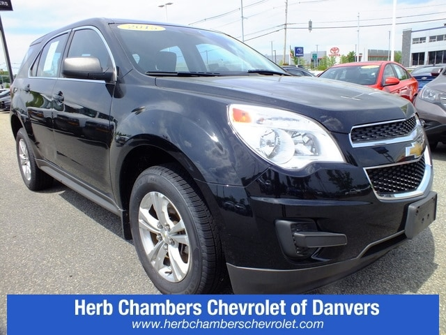 Herb Chambers Chevrolet >> Pre Owned 2015 Chevrolet Equinox Ls