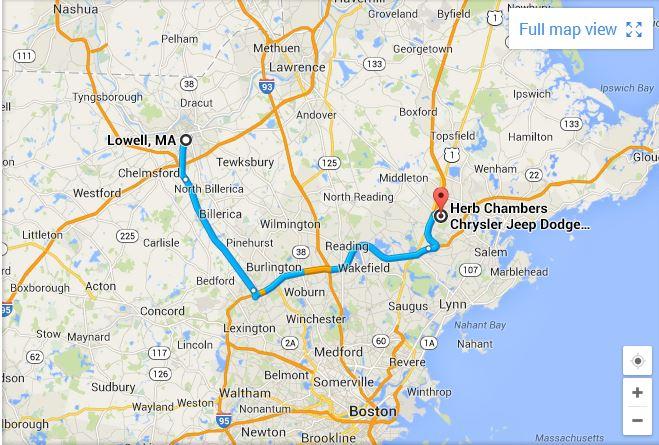 Herb Chambers Danvers >> Car Dealer Lowell Area   Chrysler Dodge Jeep Ram Dealership Near Lowell