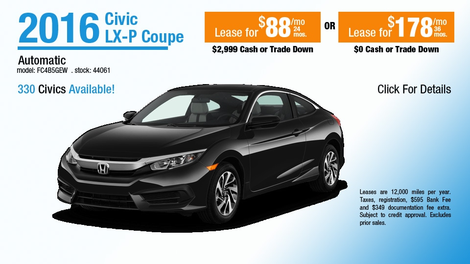 New 2016 used honda cars at herb chambers honda of for Honda dealer worcester ma