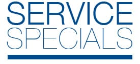 Service Specials at VW of Peoria