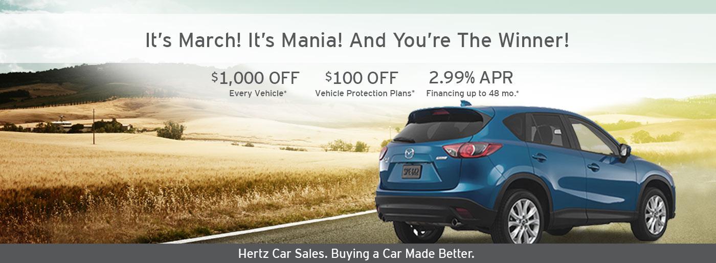 Hertz Car Sales Phoenix Used Dealership In Phoenix Az 85014