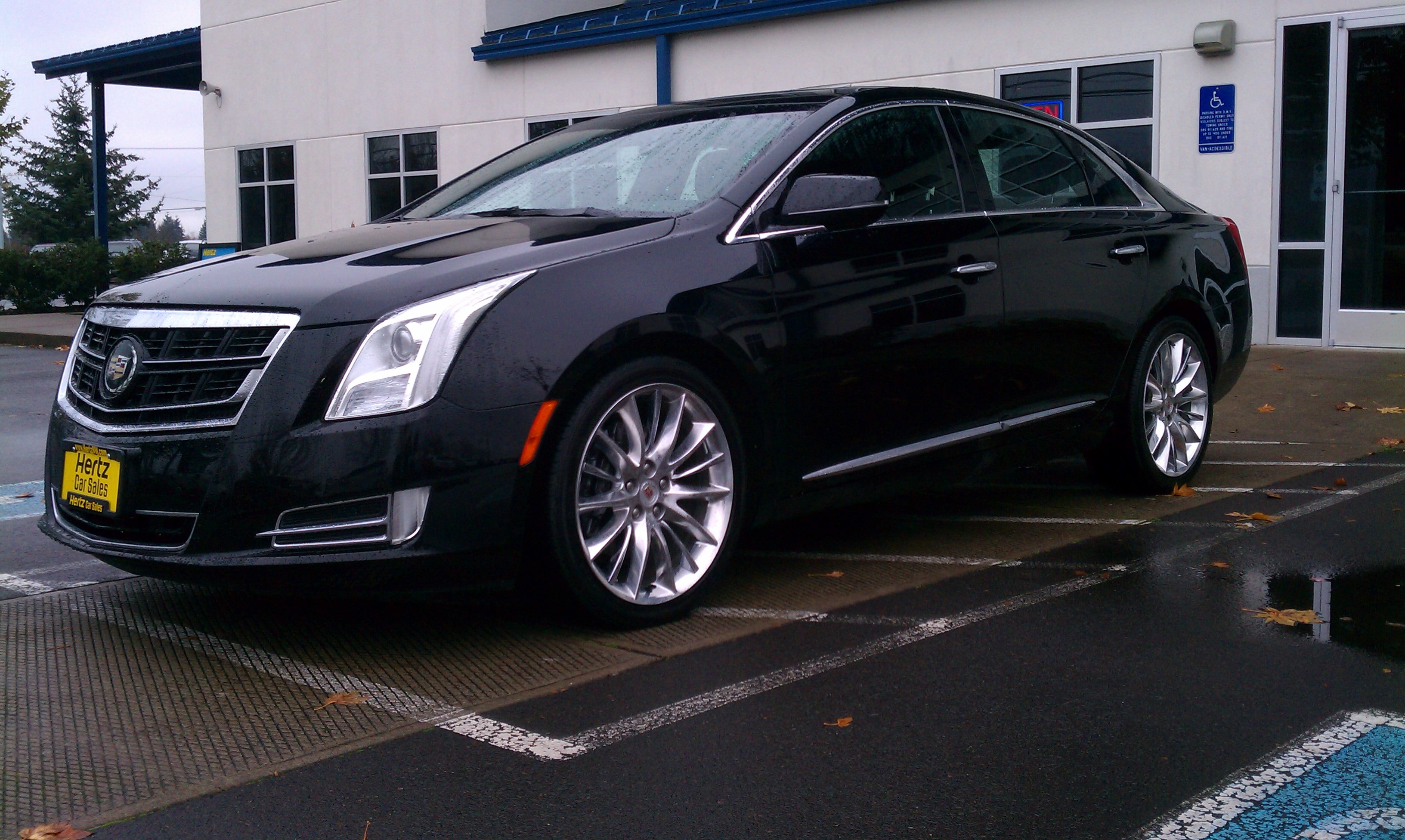2014 CADILLAC XTS Vsport Platinum Sedan