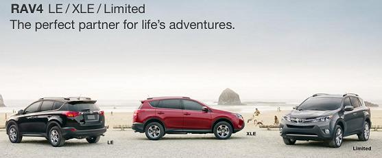 2013 RAV4 Trim Levels