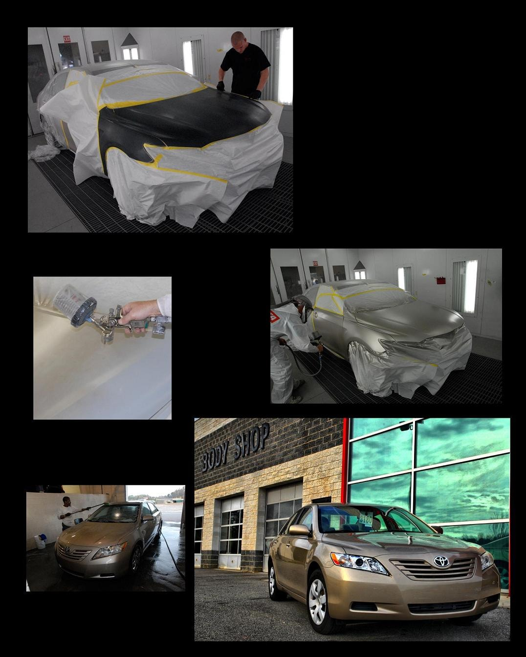 More before and after pictures of cars fixed by our auto body shop