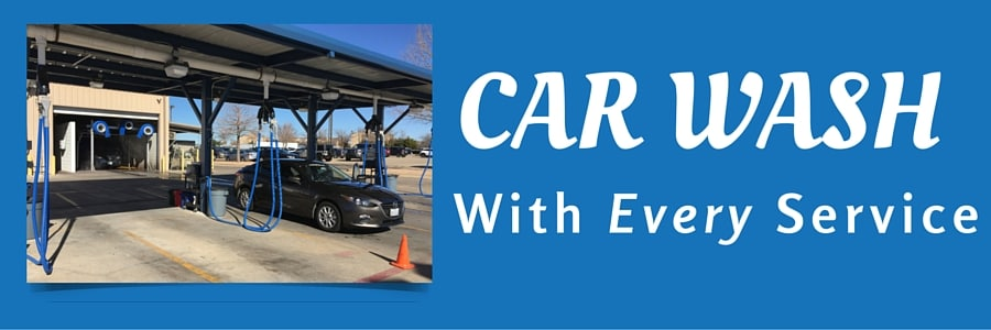 Car Wash with Every Service