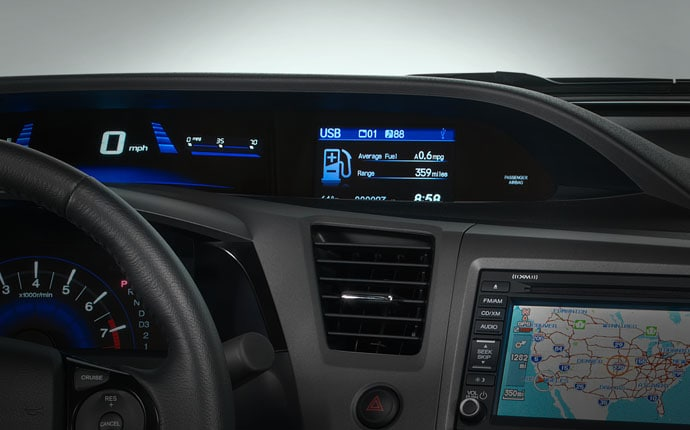 Compare cockpits of 2012 honda civic 787 non aviation for What does the econ button do in a honda civic