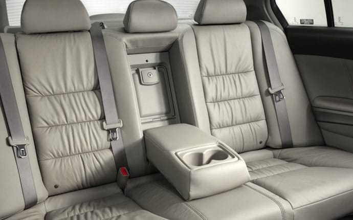 2012 Honda Accord back seat