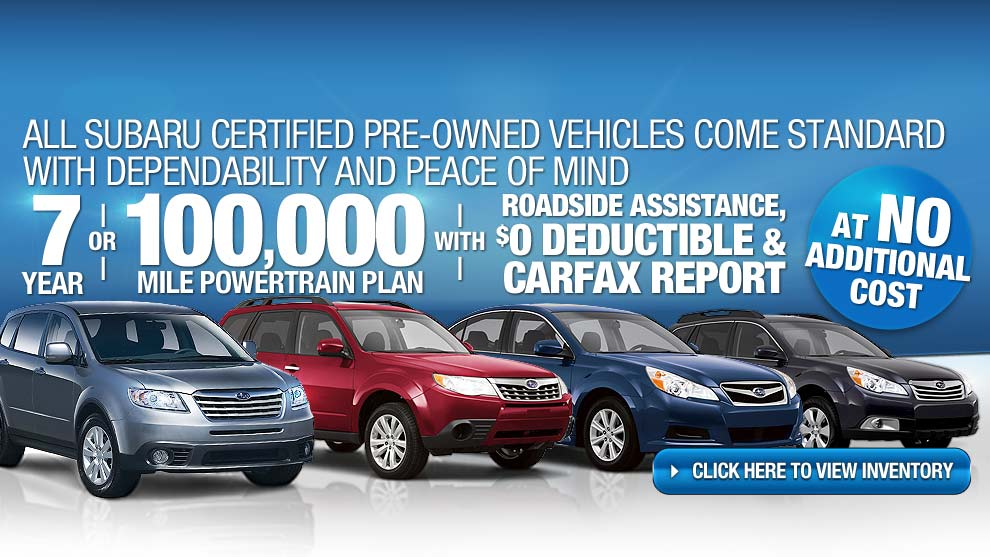 Colorado Springs New 2015 Subaru And Used Car Dealership