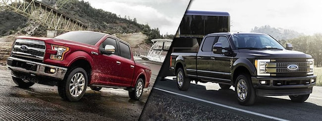 2017 Ford F-150 vs Ford F-250 SuperDuty®
