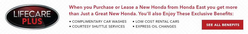 Honda East Exclusive Benefits