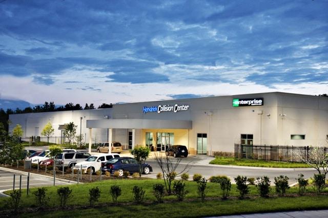 ... concord,hendrick body shop,hendrick collision center fayetteville nc