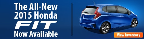 2015 Honda Fit Now In Stock!