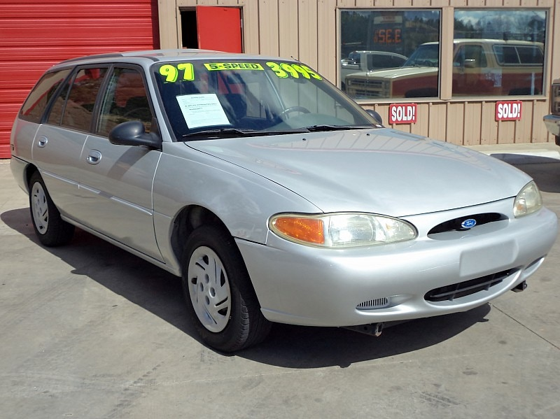 1998 escort ford station used wagon