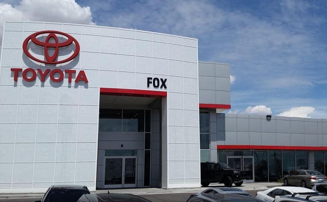 Fox Toyota Of El Paso Toyota Dealership El Paso Tx Near Las Cruces