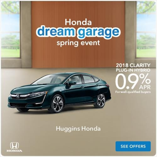 2018 Honda Clarity Plug-in Hybrid Finance Offer Near Fort Worth TX