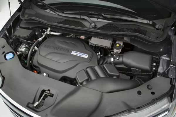 2017 Honda Ridgeline Engine Bay