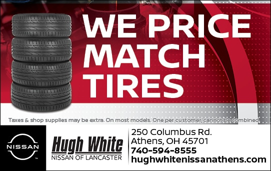 Nissan Price Match Tires Offer