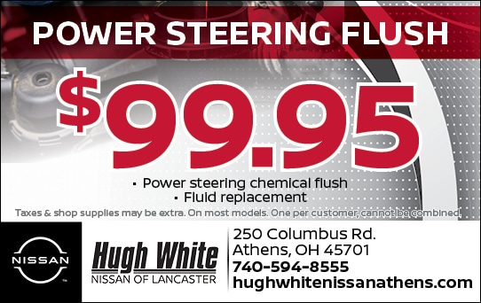 Nissan $99.95 Power Steering Flush Coupons