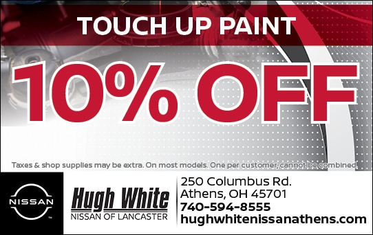 Nissan 10% Off Touch up Paint Coupons