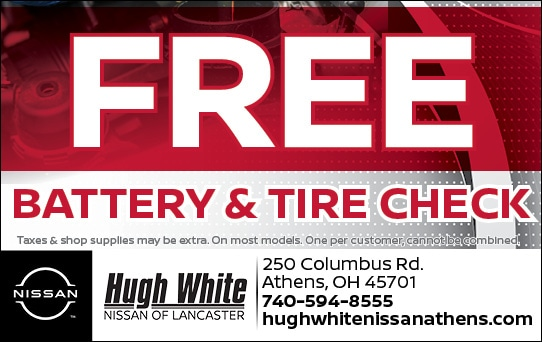 Nissan Battery & Tire Check