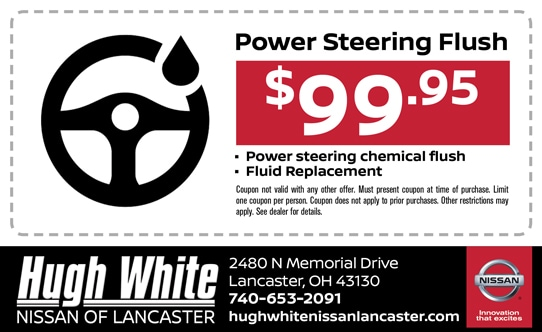 Nissan Power Steering Flush