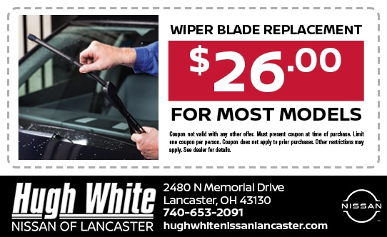 Nissan Wiper Replacement