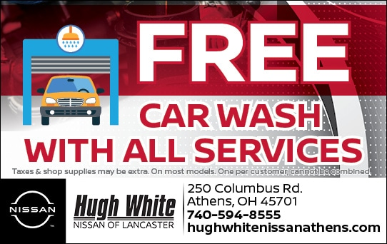 Nissan Free Car Wash with all services