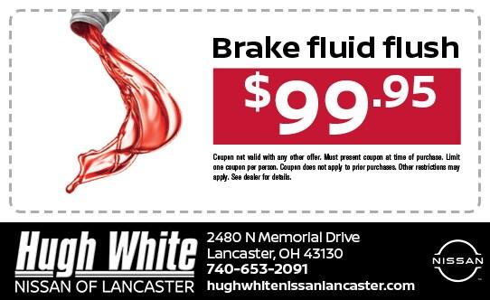 Nissan Brake Fluid Flush