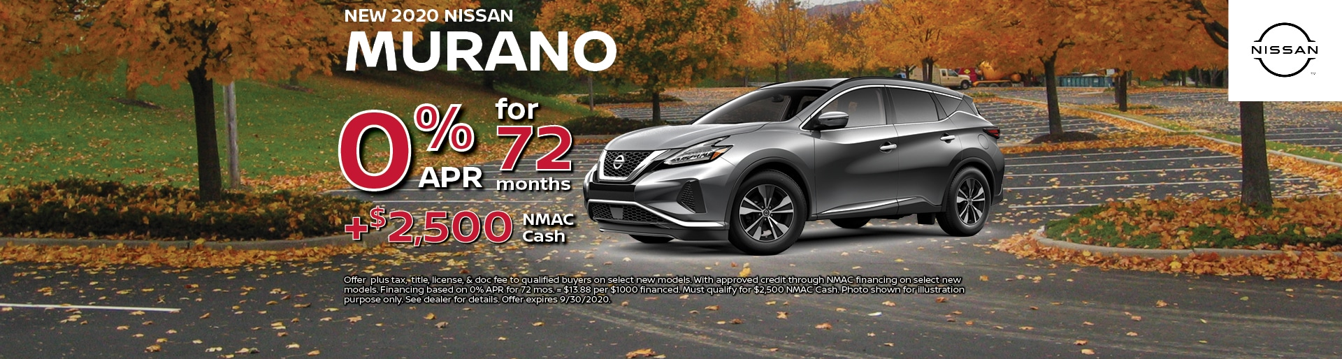 2020 Nissan Murano Special Offer | Hugh White Nissan Lancaster, OH