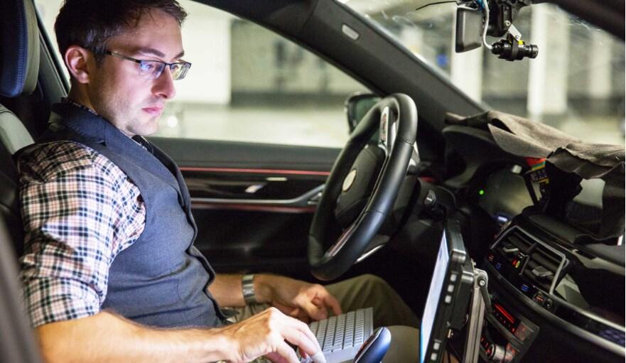 BMW self-driving technology