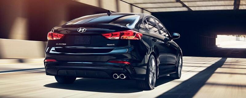 2018 Hyundai Elantra Exterior Rear