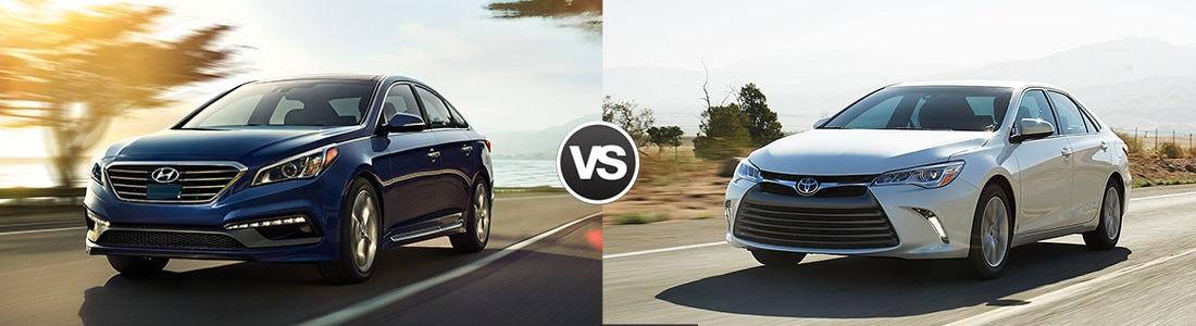 2016 Hyundai Sonata vs  Toyota Camry