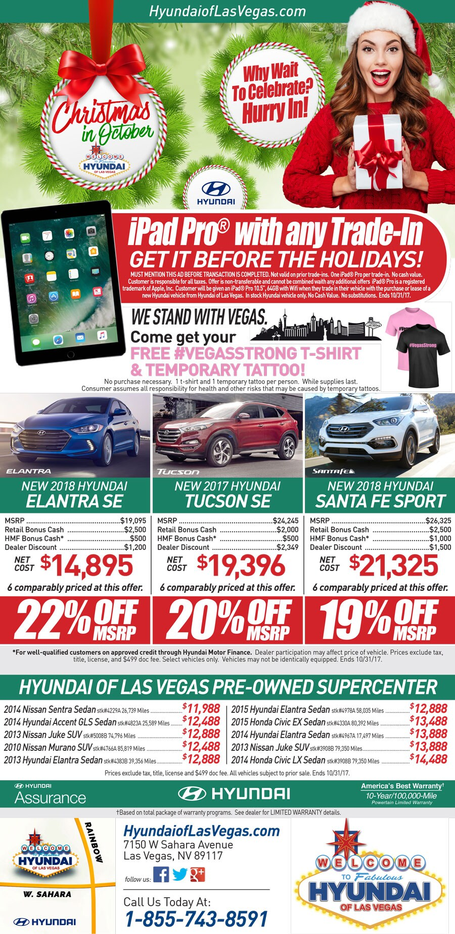 Hyundai Of Las Vegas | New Hyundai dealership in Las Vegas, NV 89117