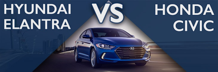 Hyundai Elantra vs. Honda Civic New Bern NC