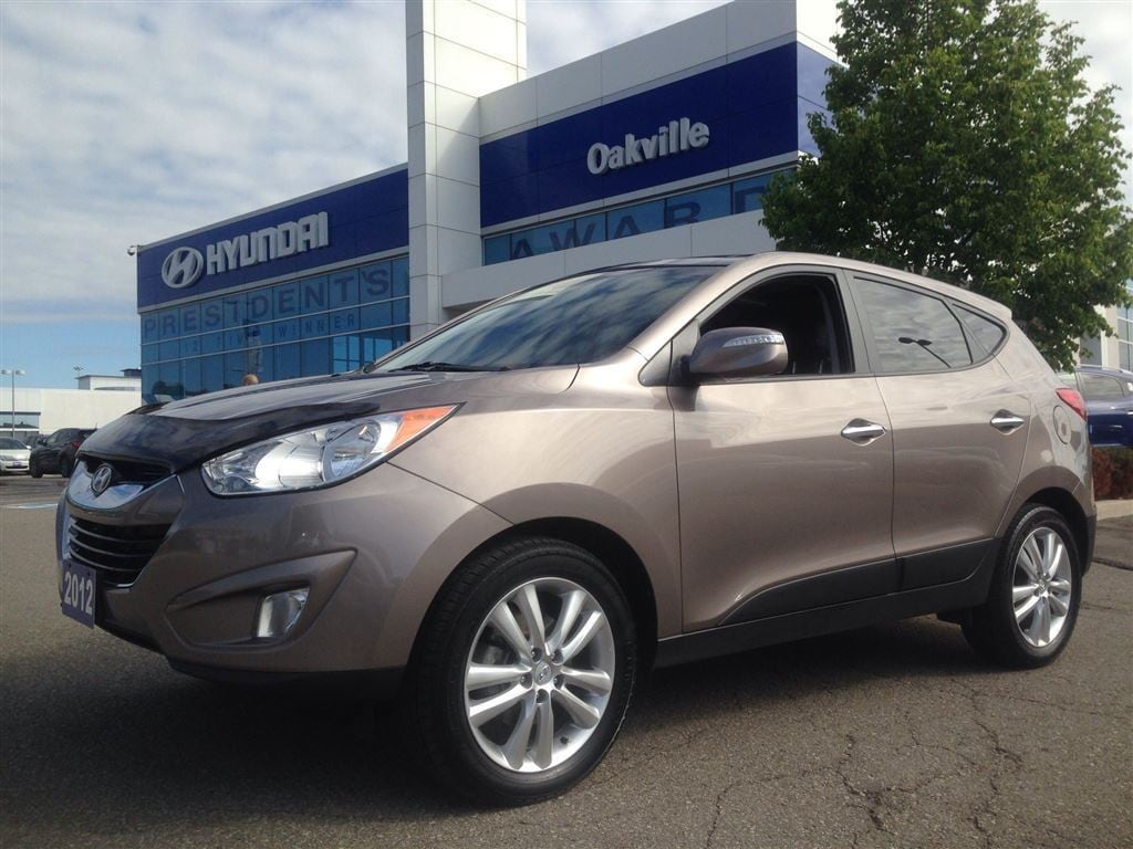 2012 Hyundai Tucson 2.4L LIMITED | AWD | LEATHER | PARKING SENSOR SUV