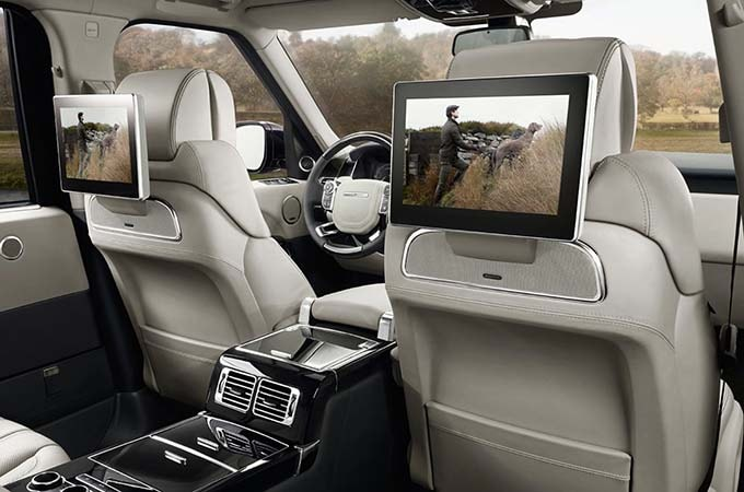 2017 Range Rover Interior Land Rover Features Hoffman