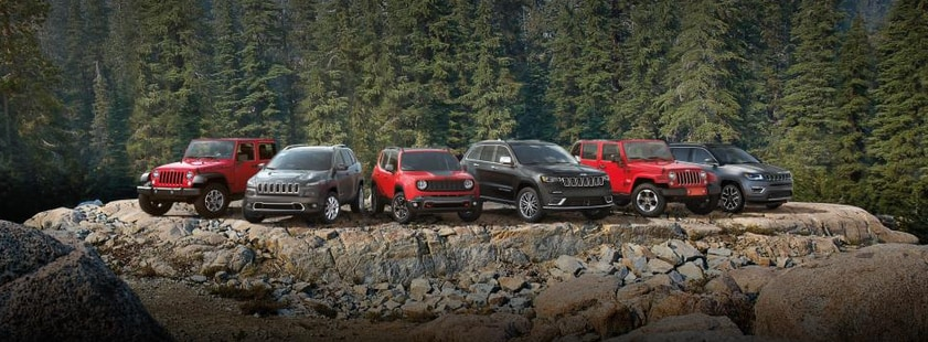 2018 Jeep Lineup Available in Massachusetts