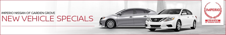 New Vehicle Specials Imperio Nissan of Garden Grove