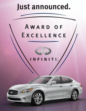 Infiniti of Scottsdale Wins Infiniti Excellence Award | Infiniti of Scottsdale Blog