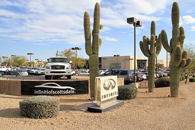 Infiniti Dealership Phoenix Area Infiniti Sales Service Az