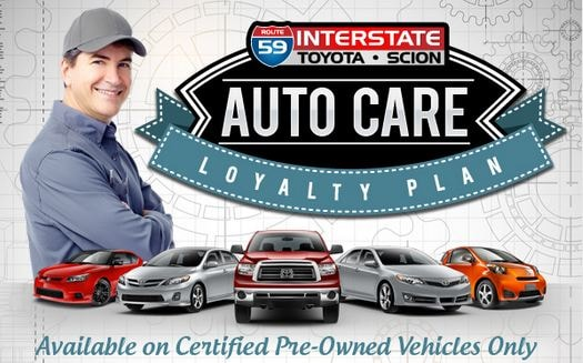 Certified Pre Owned Toyota Maintenance