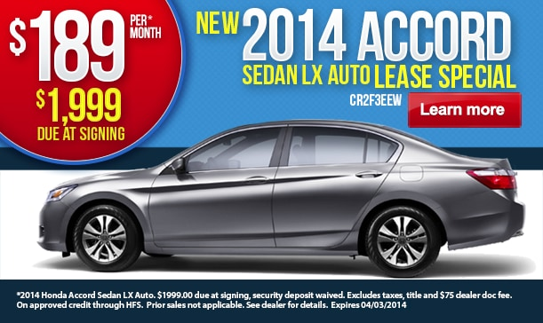 New honda lease deals mn incentives civic accord auto for Honda civic lease offers