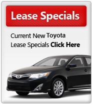 New 2014 & 2015 Toyota Lease Specials MN