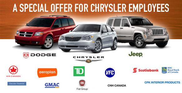 ... Chrysler Preferred Price Discount, in addition to all other retail
