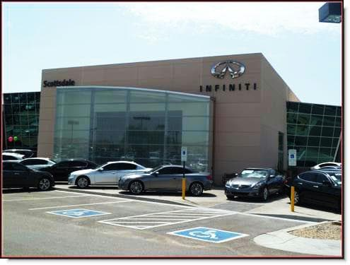 Infiniti of Scottsdale Dealership Remodel Front