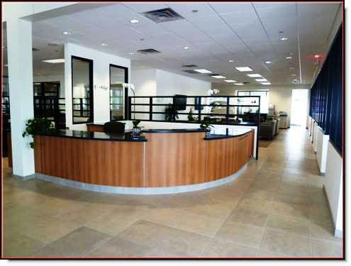 Infiniti of Scottsdale Dealership Remodel Reception