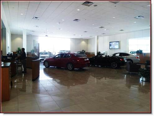 Infiniti of Scottsdale Dealership Remodel Showroom