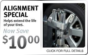Infiniti Alignment Service Coupon Scottsdale AZ